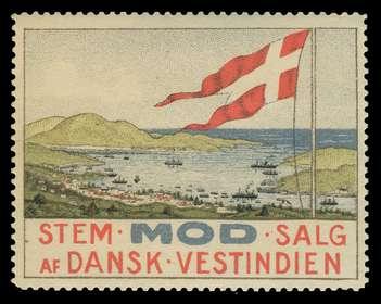 salget af de dansk vestindiske øer