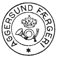 Aggersund cancellation drawing