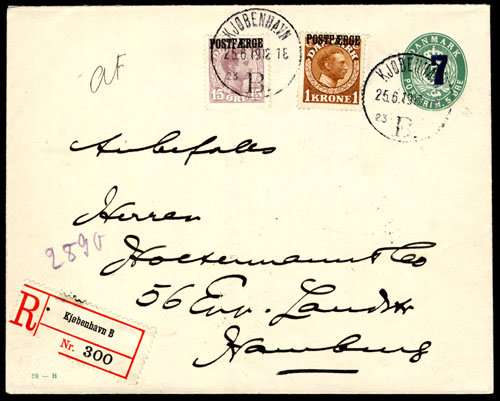Cover showing legitimate (philatelic) use of stamps for general postal use.